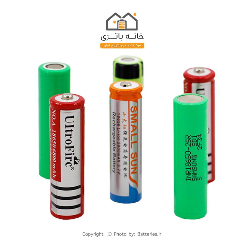خرید باتری لیتیوم 18650 ارزان