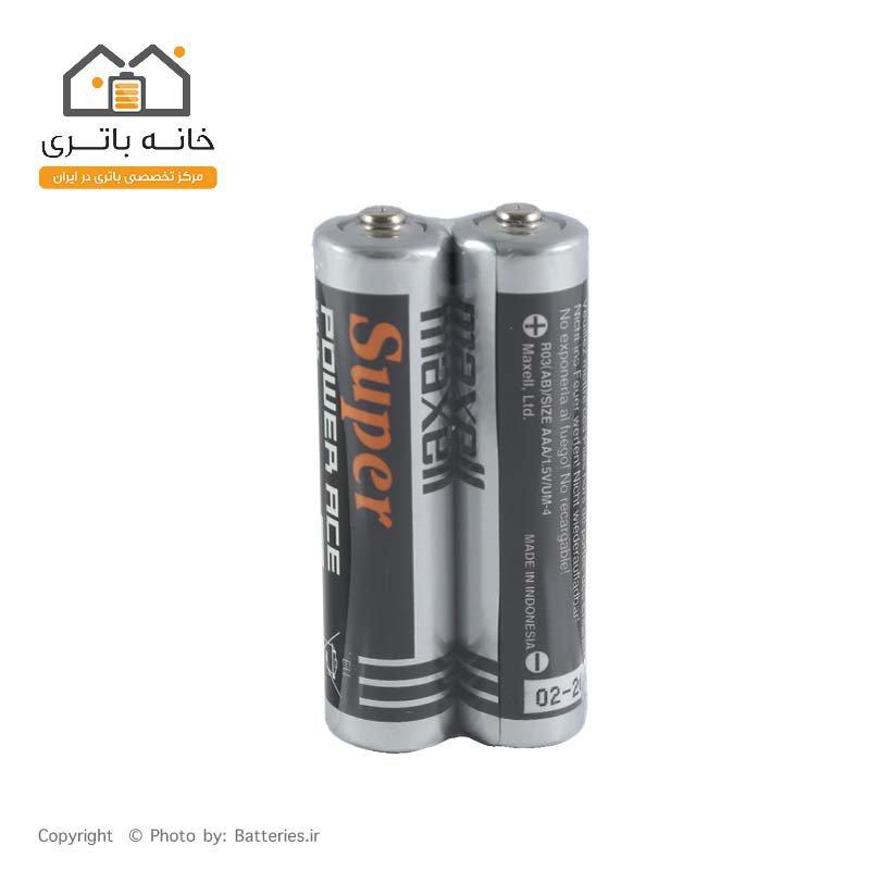 باتری نیم قلمی دو عدد شیرینگ مکسل Maxell