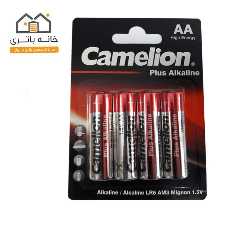 باتری قلمی آلکالاین پلاس کملیون مدل LR6-BP4