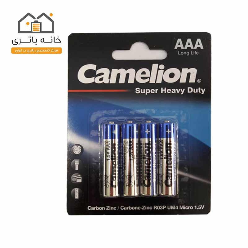باتری نیم قلمی Super Heavy Duty کملیونR03P-BP4B