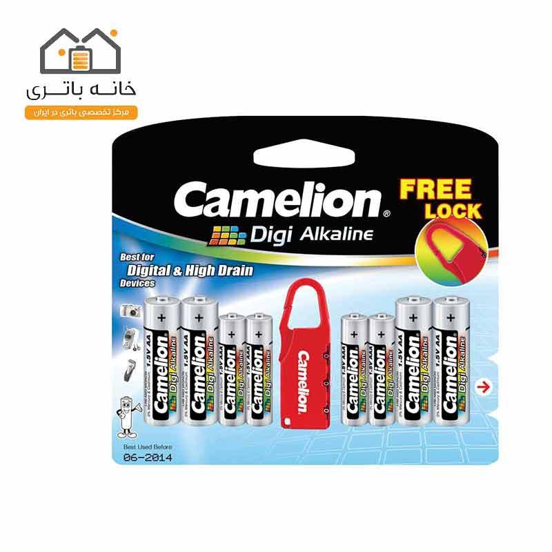 باتری دی جی آلکالاین کملیون (4LR03+4LR6DG+(Lock