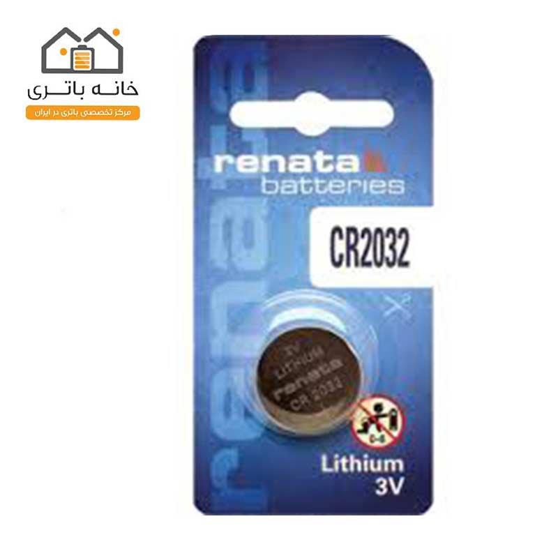 باتری سکه ای رناتا CR2032