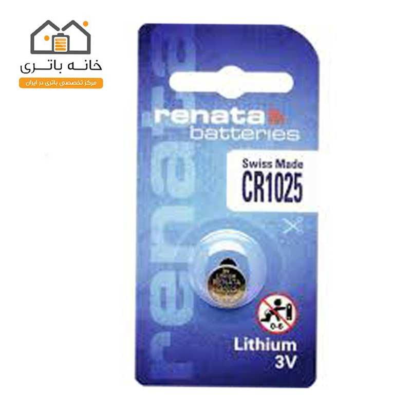 باتری سکه ای رناتا CR1025