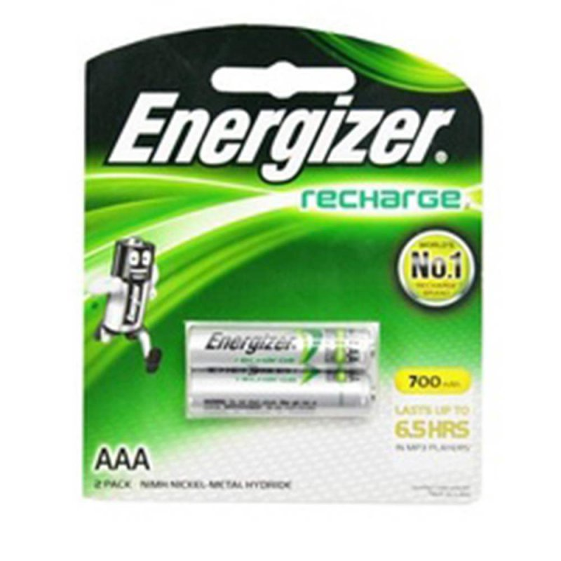 باتری نیم قلمی شارژی 700 میلی آمپر انرژایزر