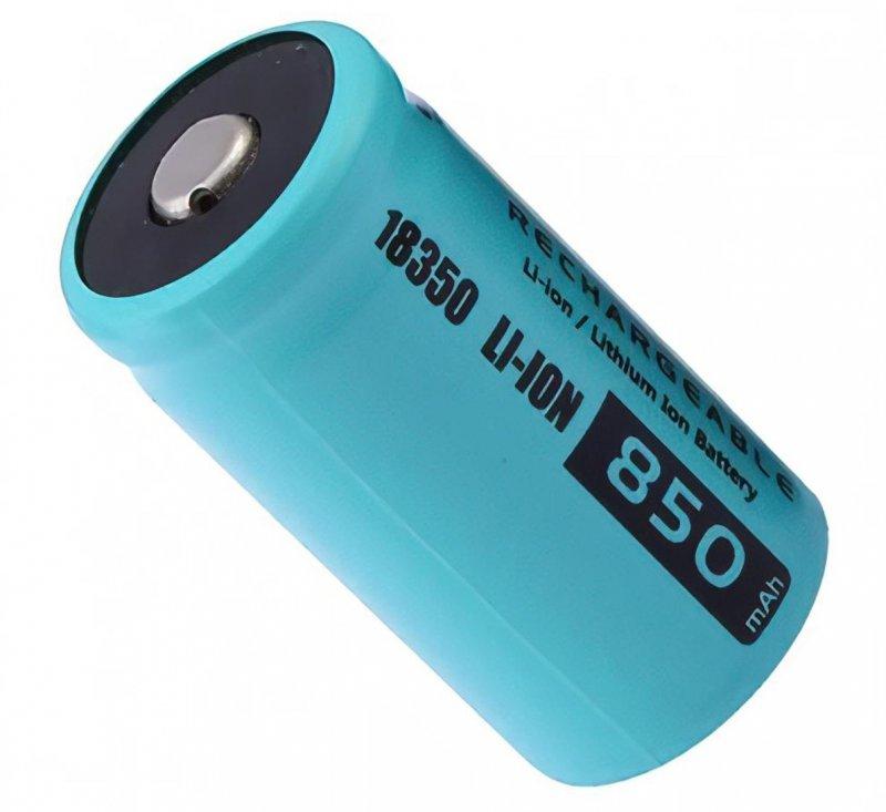 باتری اوریون 18350 لیتیوم آیون 3.7 ولت 850 میلی آمپر
