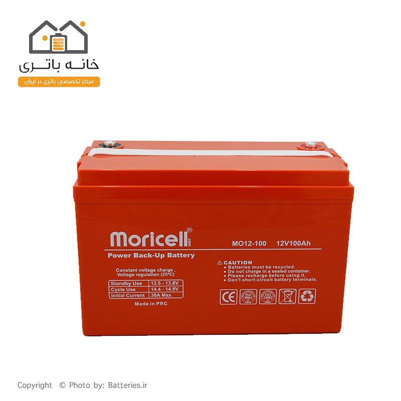 باتری یو پی اس 12 ولت 100 آمپر موریسل - Moricell