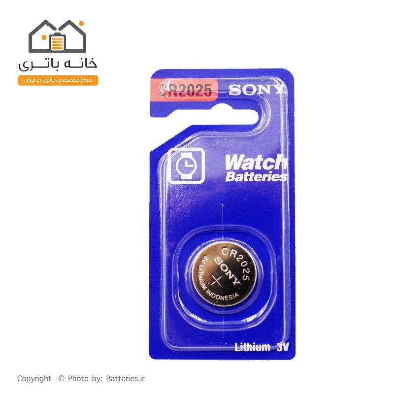 باتری سکه ای تکی سونی CR2025