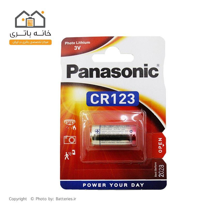 باتری لیتیوم پاناسونیک CR123