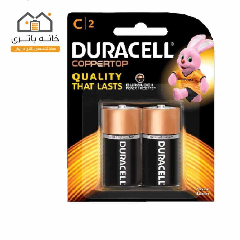 باتری متوسط آلکالاین پلاس پاور دوراسل (Duracell)