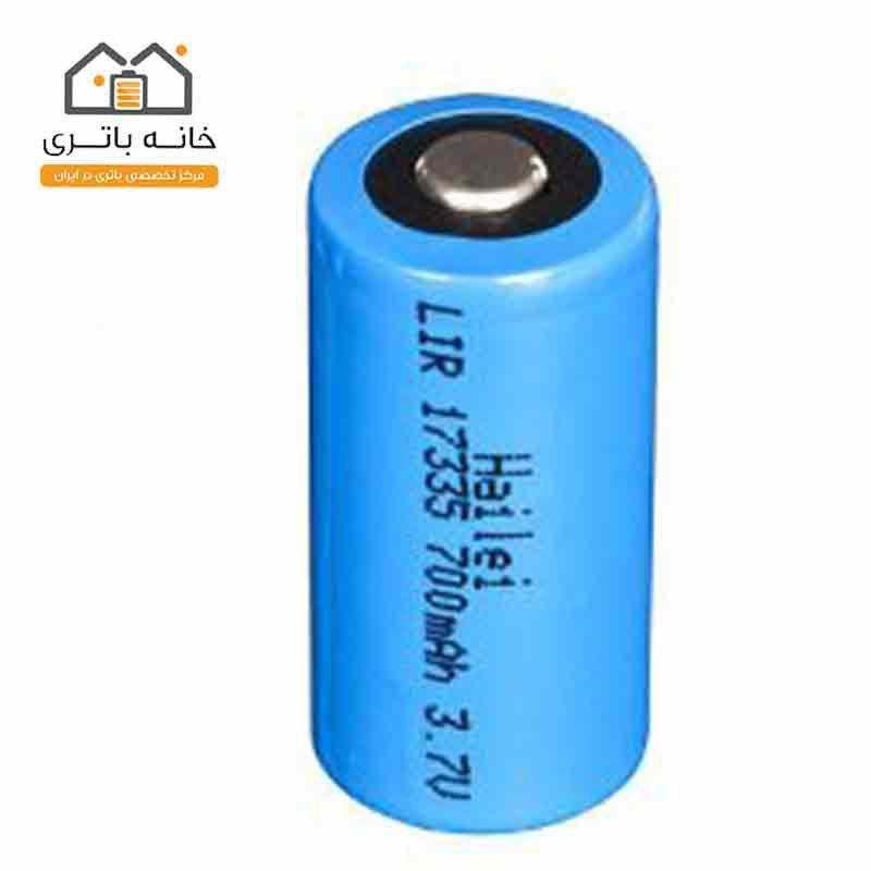 باتری 3 ولت لیتیوم 17335 Hailei 700mAh