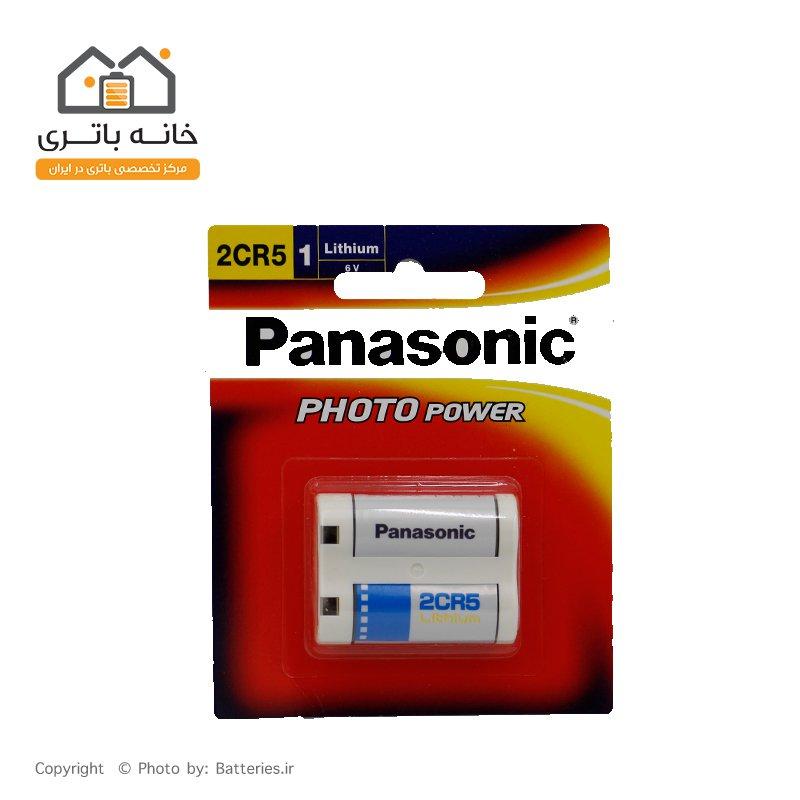 باتری پاناسونیک لیتیوم  6ولت 2CR5