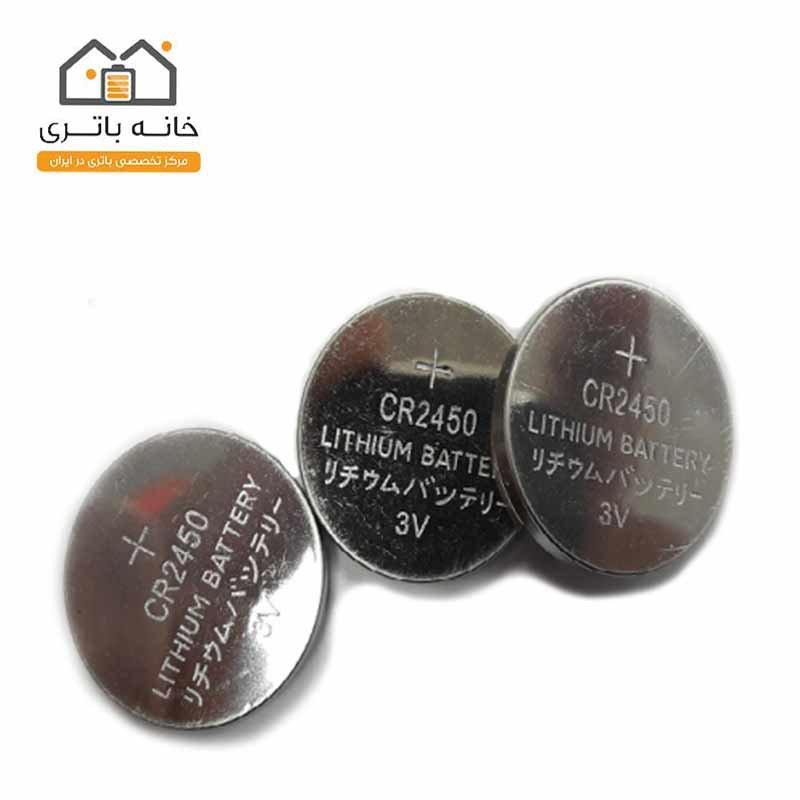 باتری سکه ای 3 ولت CR2450 موریسل