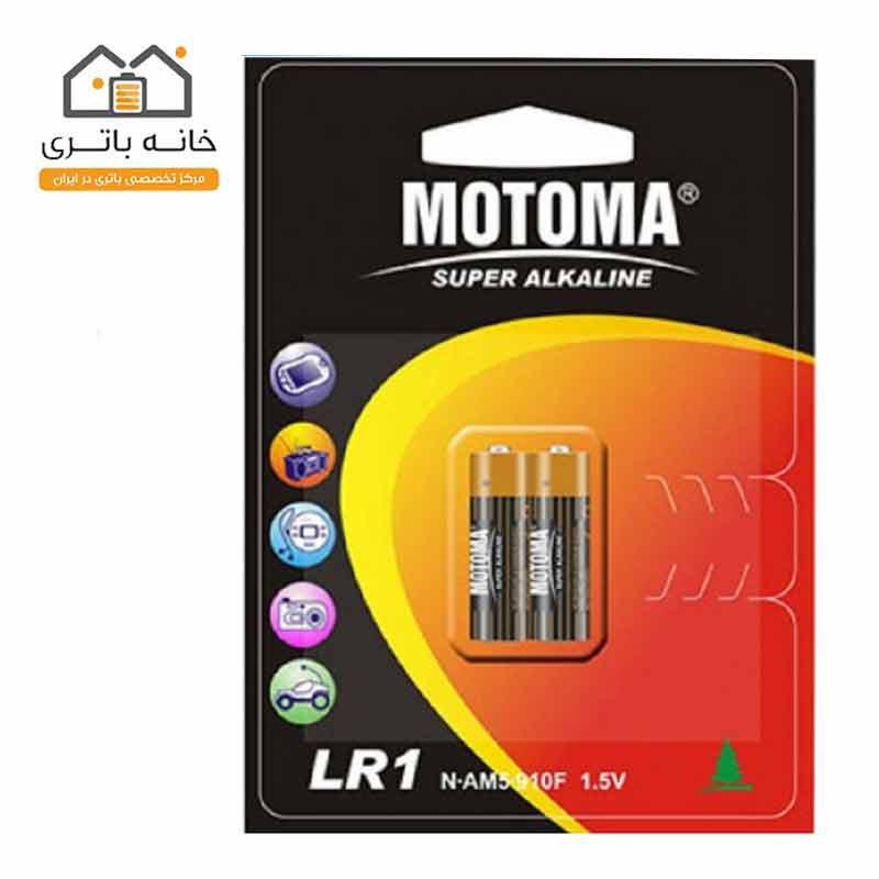 باتری قلمی سوپر آلکالاین موتوما مدل LR