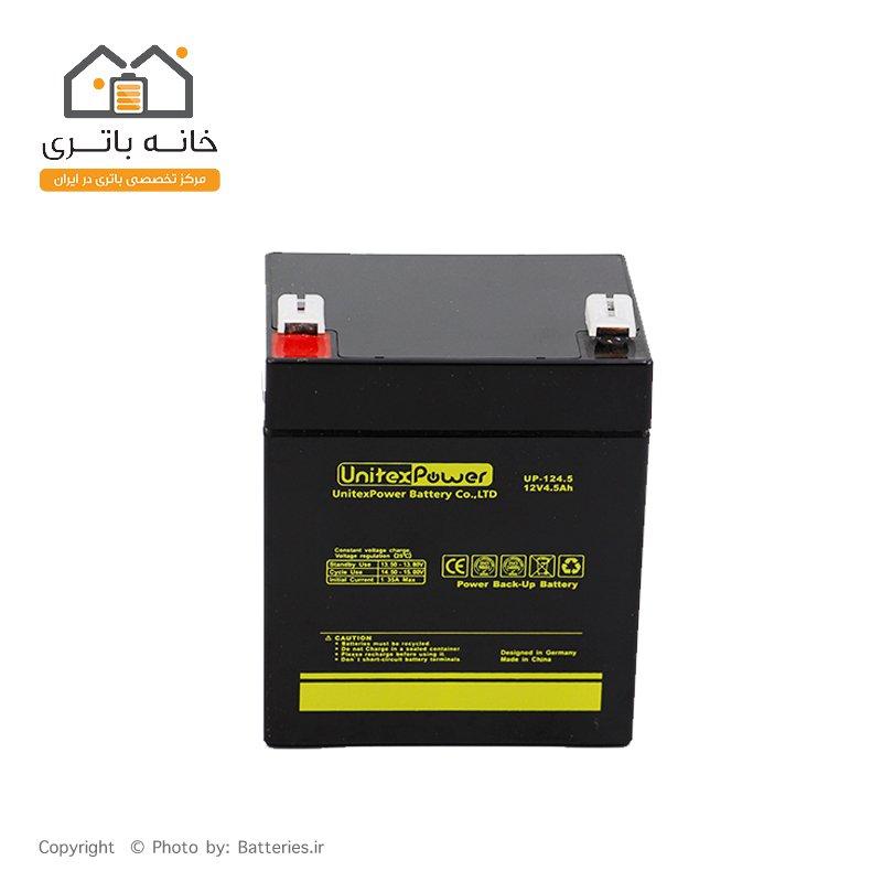 باتری سیلد اسید 12 ولت 4.5 آمپر Unitex Power یونیتکس پاور