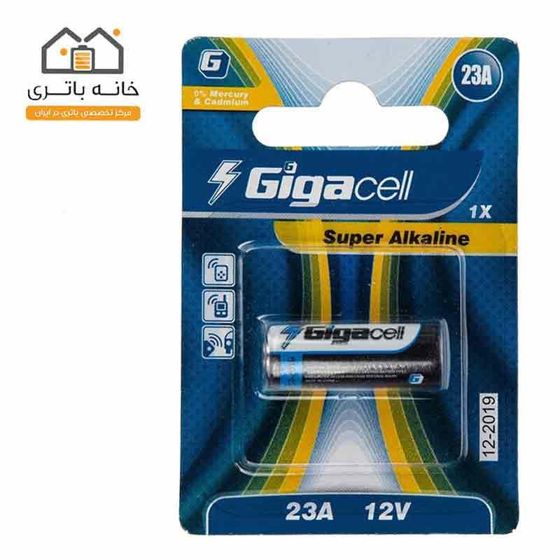 باتری ریموت A23 تک کارت گیگاسل Gigacell
