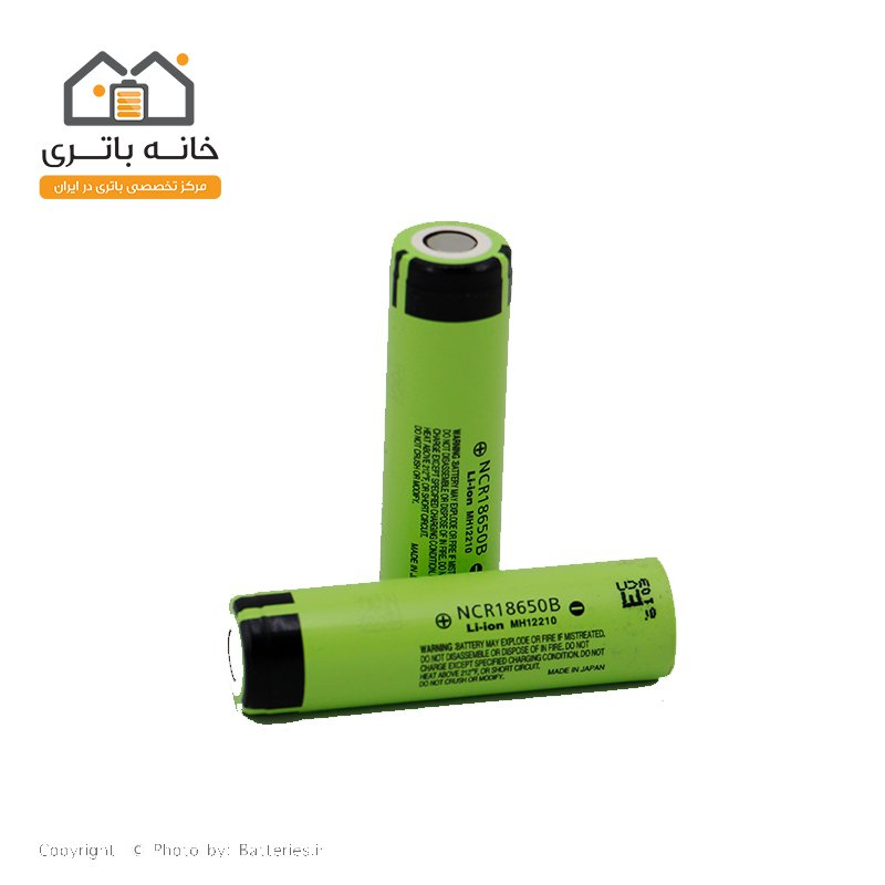 باتری لیتیوم آیون 18650 شارژی 3.7 ولت 3400 میلی آمپر  پاناسونیک  Panasonic