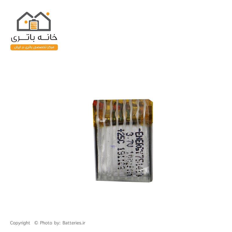 باتری لیتیوم پلیمر 3.7 ولت 100 میلی آمپر ساعت انرژی (151411) 25C