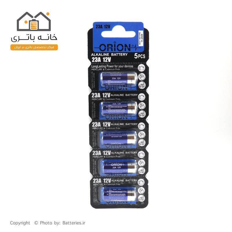 باتری 12 ولت A23 آلکالاین اوریون 5 عددی orion