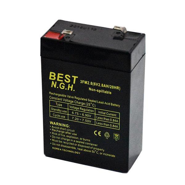 باتری سیلد اسید 6 ولت 2.8 آمپر بست Best