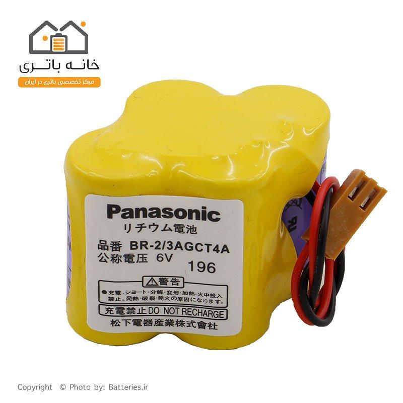 باتری پاناسونیک PLC لیتیوم 6 ولت panasonic