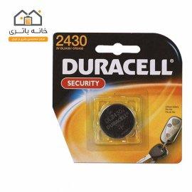 باتری سکه ای دوراسل CR2430 کارتی Duracell