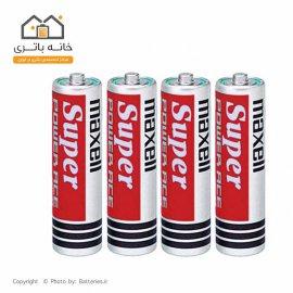 باتری قلمی مکسل 4 عددی شیرینگ