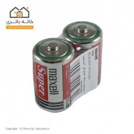 باتری معمولی سایز متوسط مکسل مدل Super Power Ace