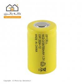 باتری شارژی 1.2 ولت 700 میلی آمپر سایز 2.3A جی اس پی سل(JSP CELL)