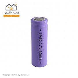 باتری 3.7 ولت لیتیوم آیون 14430