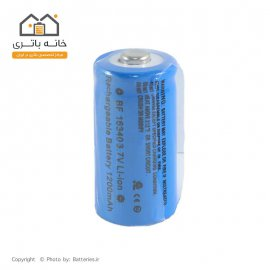 باتری لیتیوم آیون 16340 شارژی 3.7 ولت 1200 میلی آمپر Best Fire
