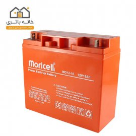 باتری سیلد اسید 12 ولت 18 آمپر موریسل Moricell