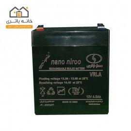 باتری خشک سیلد اسید 12 ولت 4.5 آمپر صبا باتری (Saba Battery)