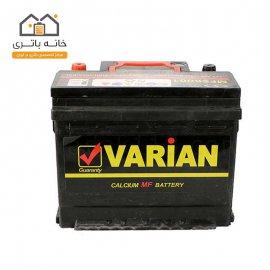 باتری اتمی 12 ولت 60 آمپر ماشینواریان صبا باتری