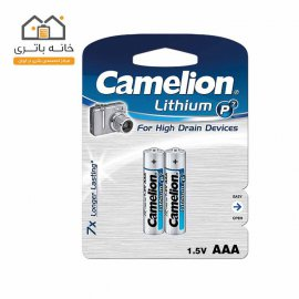 باتری نیم قلمی لیتیوم کملیون FR03-BP2