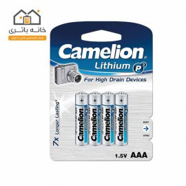 باتری نیم قلمی لیتیوم کملیون FR03-BP4