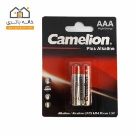 Camelion Plus Alkaline AAA Battery LR03-BP2