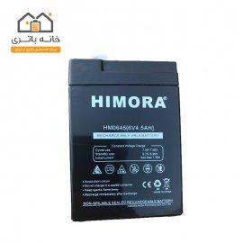 باتری  6 ولت 4.5 آمپر هیمورا - Himora مناسب برای ترازو محک