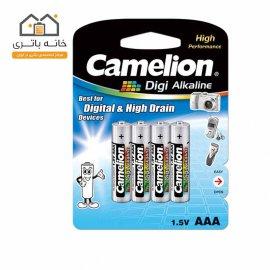باتری نیم قلمی دی جی آلکالاین کملیون LR03-BP4DG