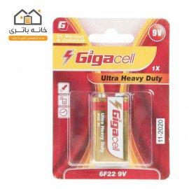 باتری 9 ولت معمولی گیگاسل Gigacell کارتی
