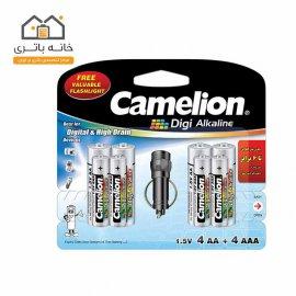باتری دی جی آلکالاین کملیون (4LR03+4LR6DG+(Torch