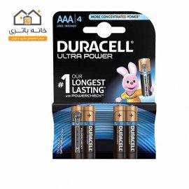 باتری نیم قلمی دوراسل مدل اولترا پاور( Ultra Power) بسته 4 عددی