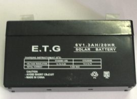 باتری خشک 6 ولت 1/3 آمپر مارک ای تی جی