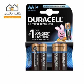 Duracell Ultra Power Duracell With Power Check AA Battery Pack Of 4
