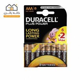 باتری نیم قلمی دوراسل مدل پلاس پاور(Plus Power) بسته 6+2 عددی