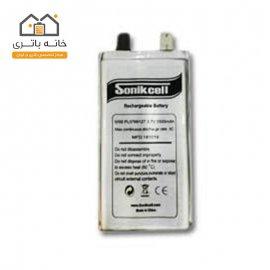 باتری لیتیوم پلیمر3.7 ولت 5500میلی آمپر 0766127 سونیک سل( Sonikcell)