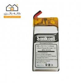 باتری لیتیوم پلیمر 3.7 ولت 230 میلیآمپر – 551730 سونیک سل( Sonikcell)