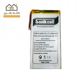 باتری لیتیوم پلیمر 3.7 ولت 3800 میلیآمپر-3865125 سونیک سل( Sonikcell)