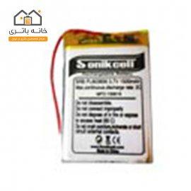 باتری لیتیوم پلیمر 3.7 ولت 1500 میلیآمپر 603856 سونیک سل( Sonikcell)