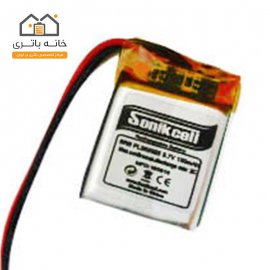 باتری لیتیوم پلیمر3.7 ولت 130 میلیآمپر 352025 سونیک سل( Sonikcell)