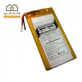 باتری لیتیوم پلیمر 3.7 ولت 1100 میلیآمپر-053562 سونیک سل( Sonikcell)